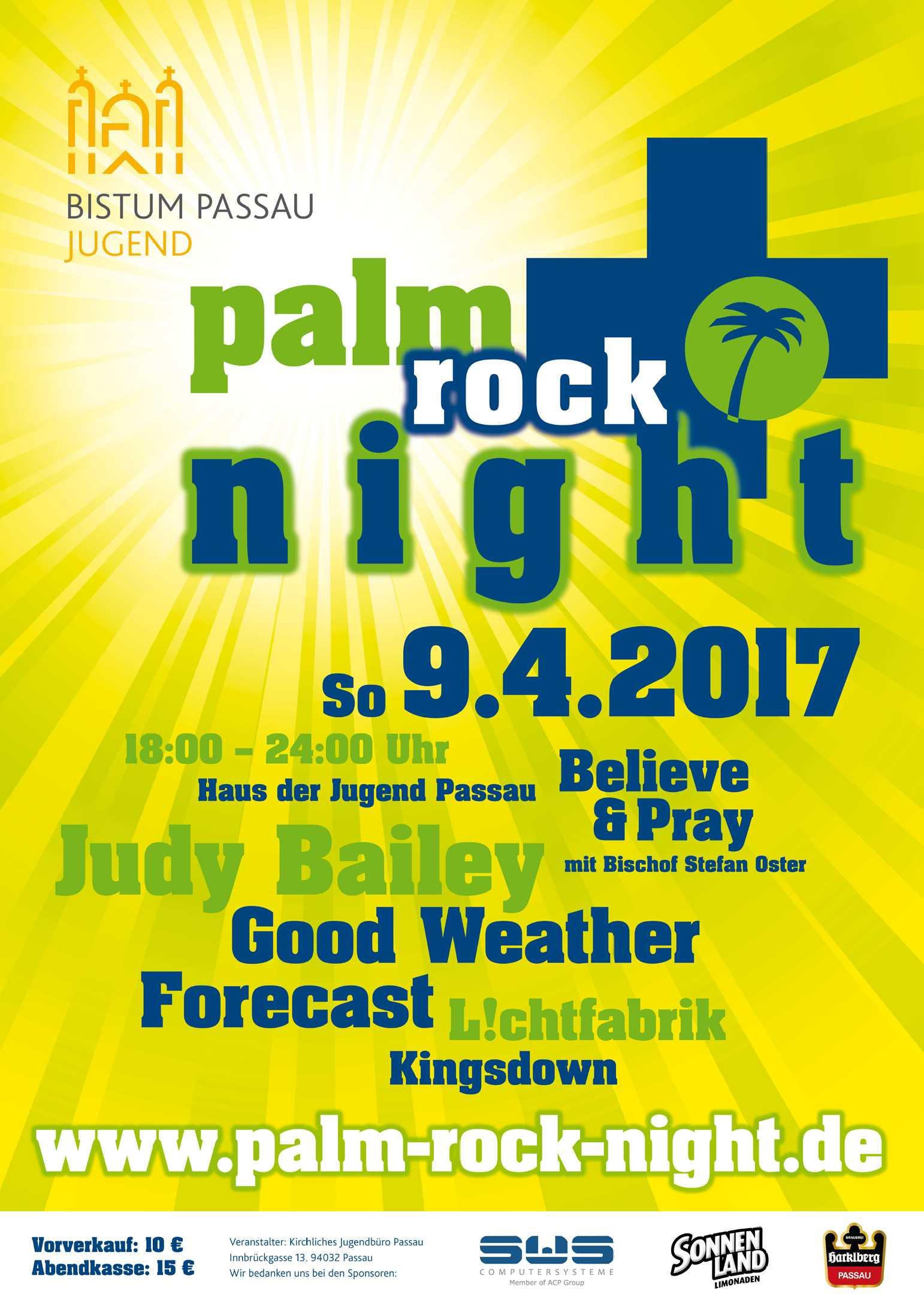 Palm Rock Night Mit Believe N Pray Stefan Oster Sdb