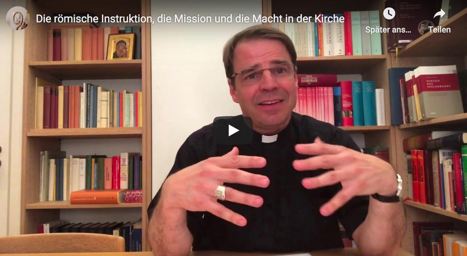 Instruktion Der Kleruskongregation